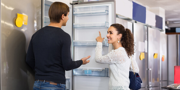 buyers with appliance